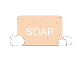 スクラブ石鹸